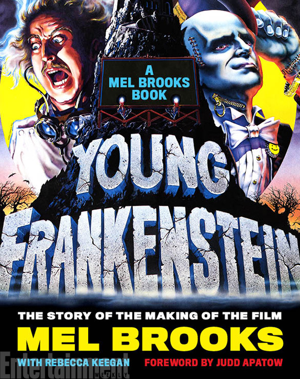 book cover: Young Frankenstein by Mel Brooks