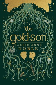 book cover: The Gold-Son by Carrie Anne Noble