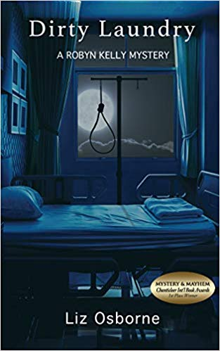 book cover: Dirty Laundry by Liz Osborne