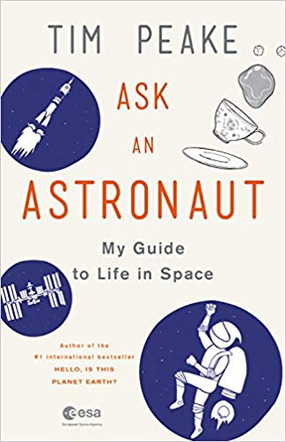 book cover: Ask an Astronaut by Tim Peake