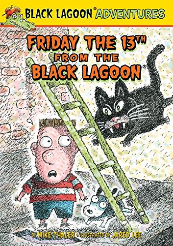 book cover: Friday the 13th from the Black Lagoon by Mike Thaler