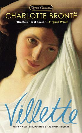 book cover: Villette by Charlotte Bronte