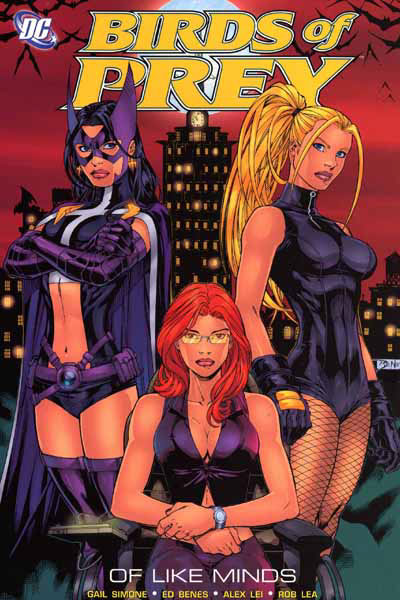 book cover: Birds of Prey - Of Like Minds