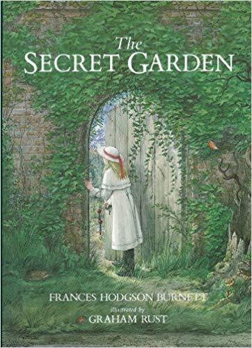 book cover: The Secret Garden by Frances Hodgson Burnett