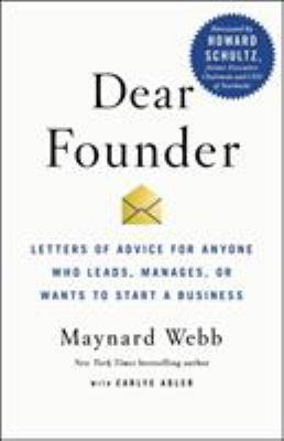 book cover: Dear Founder by Webb and Adler