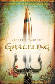 book cover: Graceling by Kristin Cashore