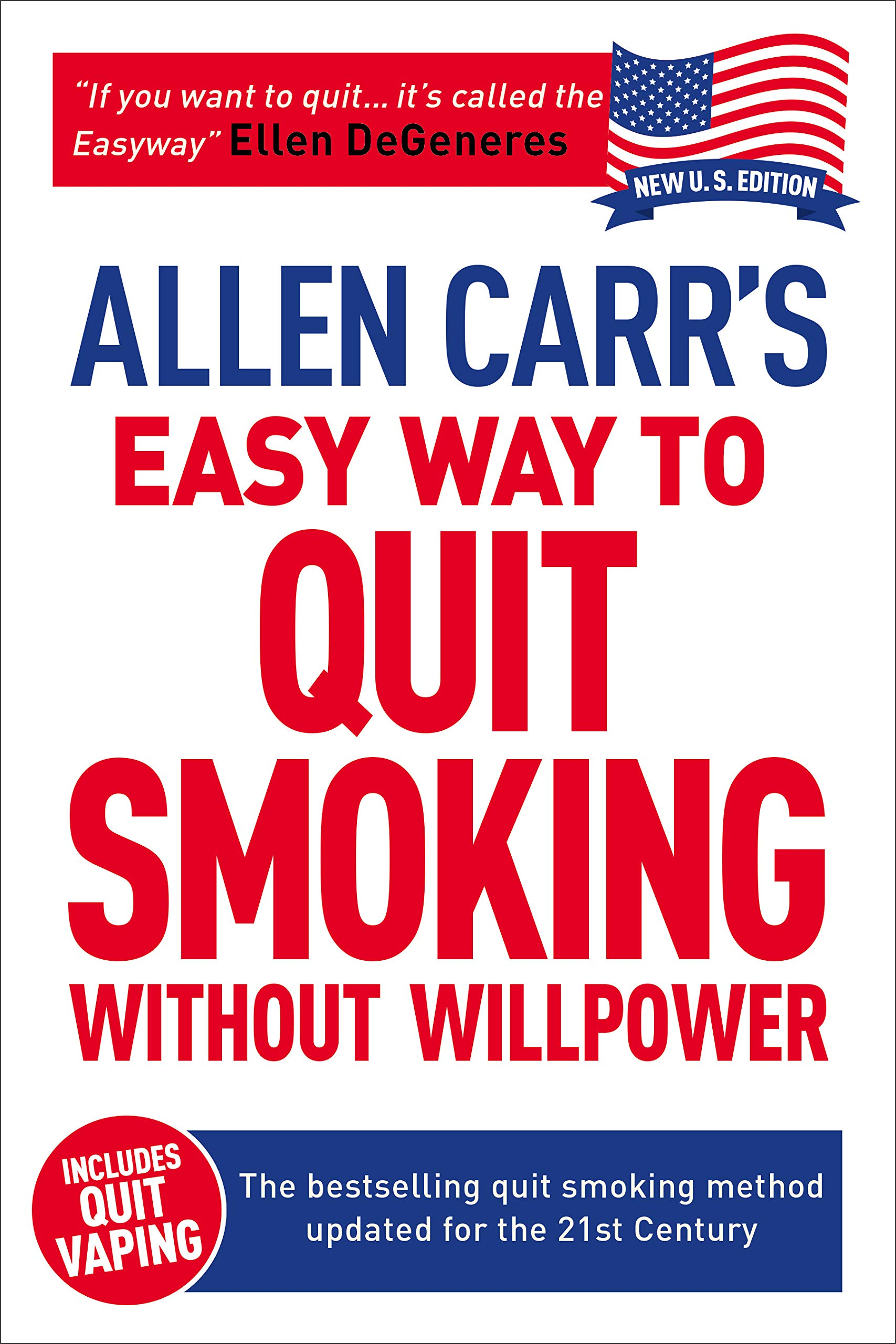book cover: Allen Carr's Easy Way to Quit Smoking