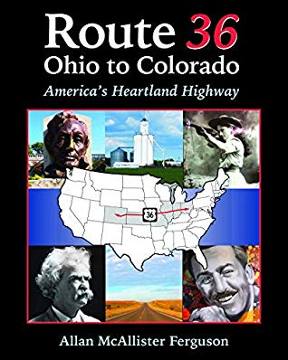 book cover: Route 36 Ohio to Colorado by Allan McAllister Ferguson