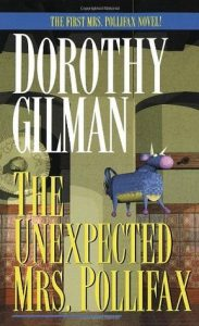 book cover: The Unexpected Mrs. Pollifax by Dorothy Gilman