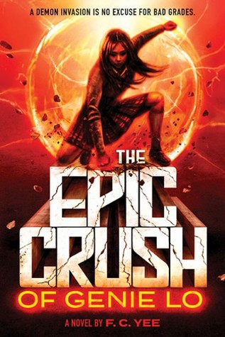 book cover: The Epic Crush of Genie Lo by FC Yee