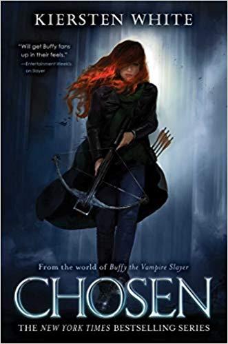 book cover: Chosen by Kiersten White