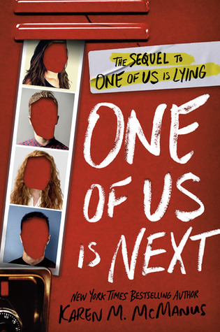 book cover: One of Us Is Next by Karen M. McManus