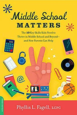 book cover: Middle School Matters by Phyllis Fagell
