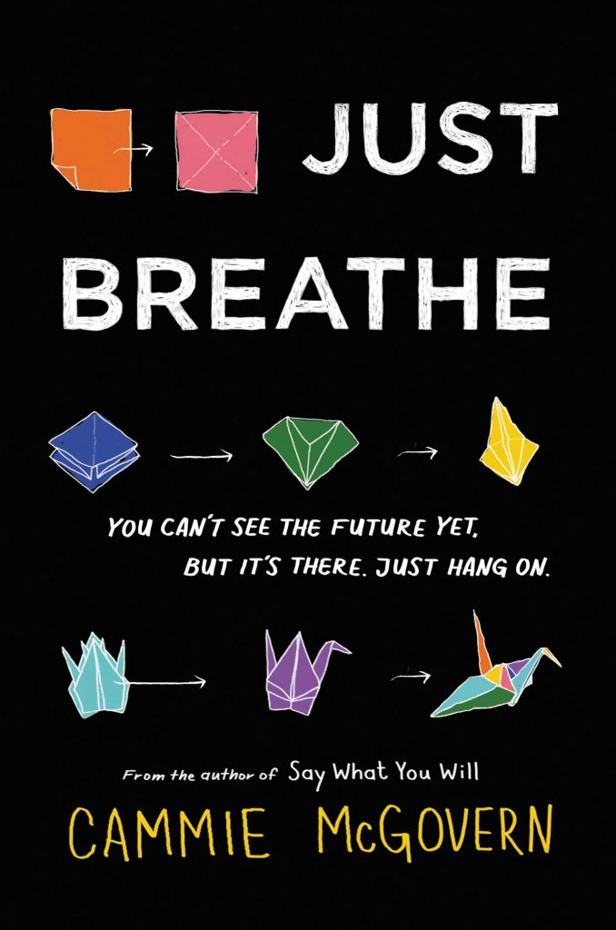 book cover: Just Breathe by Cammie McGovern