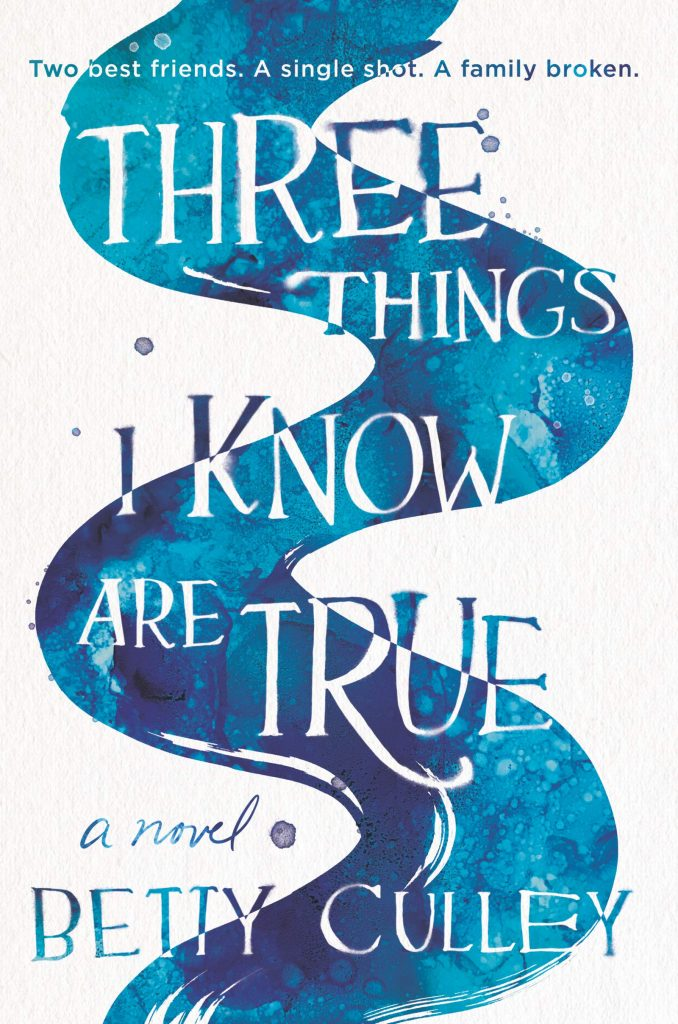 book cover: Three Things I Know are True by Betty Culley