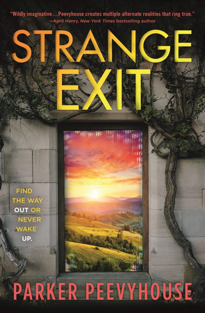 book cover: Strange Exit by Parker Peevyhouse