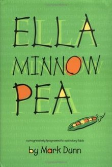 book cover: Ella Minnow Pea by Mark Dunn