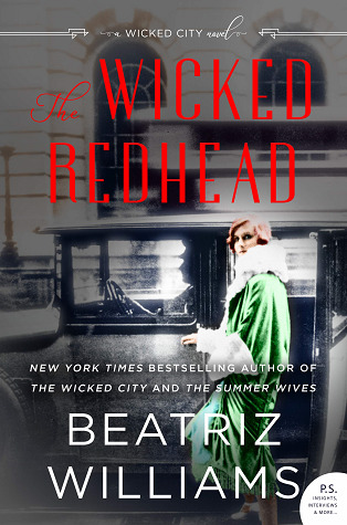 book cover: The Wicked Redhead by Beatriz Williams