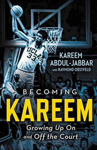 book cover: Becoming Kareem by Kareem Abdul-Jabbar and Raymond Obstfeld