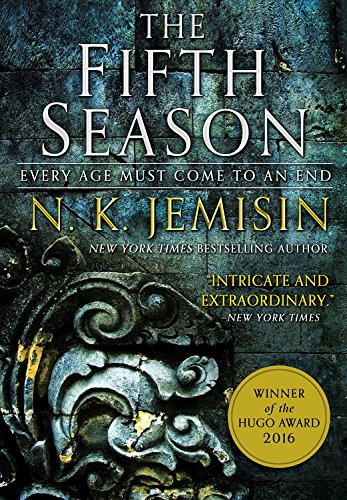 book cover: The Fifth Season by NK Jemisin