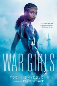 book cover: War Girls by Tochi Onyebucki