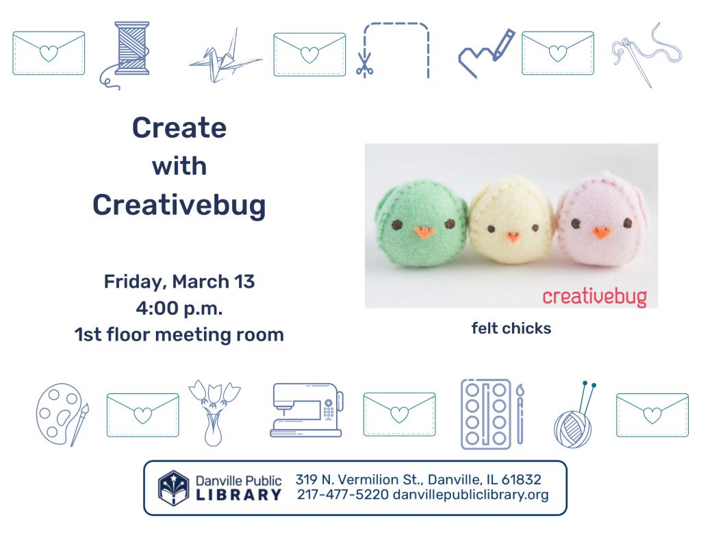 creativebug 3-13-20 flyer