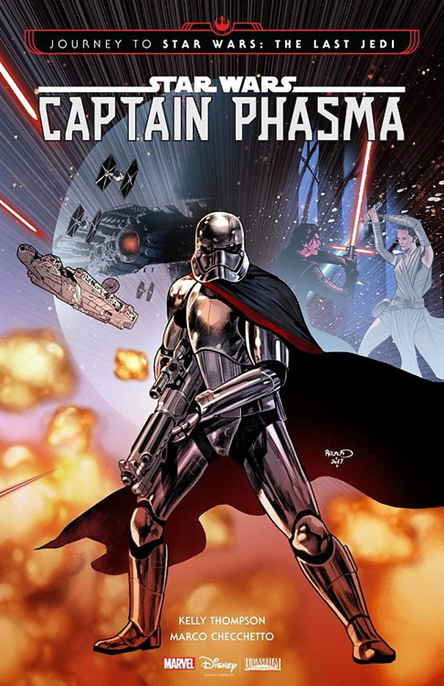 book cover: Captain Phasma by Thompson and Checchetto