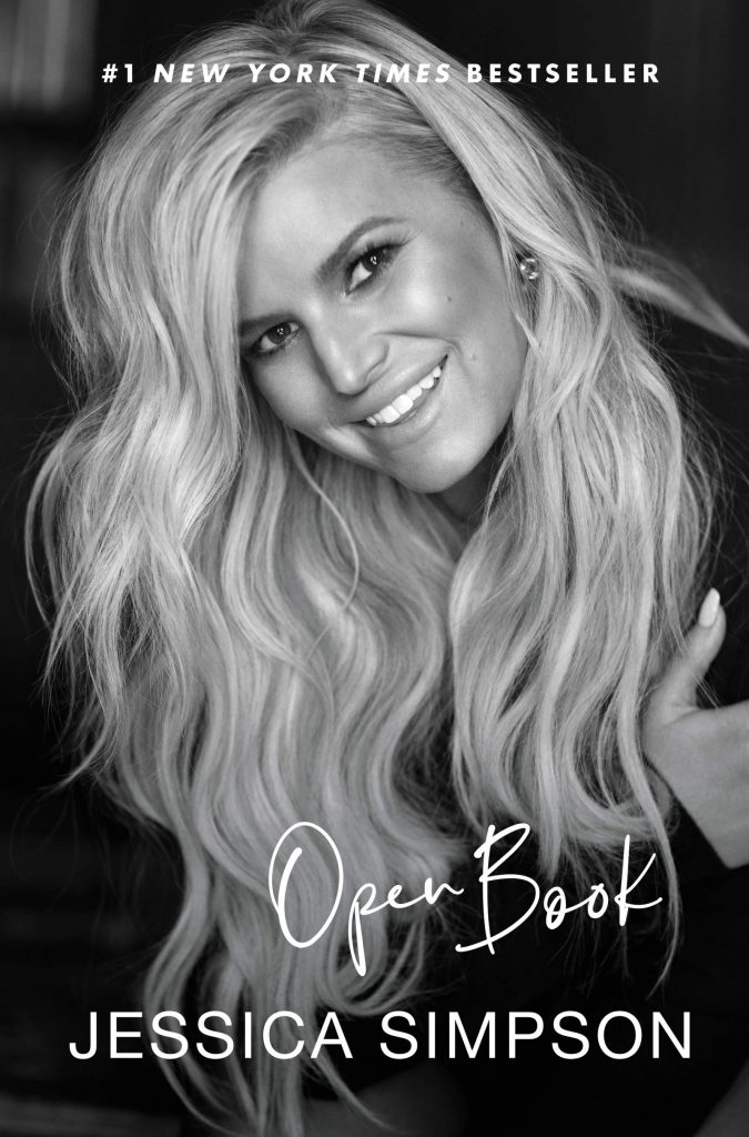 book cover: Open Book by Jessica Simpson