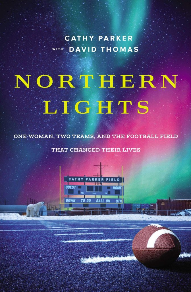 book cover: Northern Lights by Cathy Parker with David Thomas