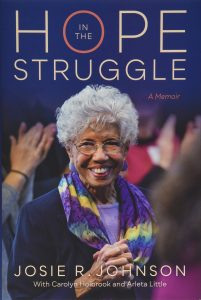 book cover: Hope in the Struggle by Josie R. Johnson