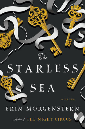 book cover: The Starless Sea by Erin Morgenstern