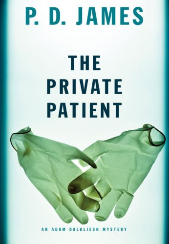 book cover: The Private Patient by PD James