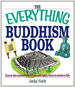book cover: The Everything Buddhism Book by Jacky Sach