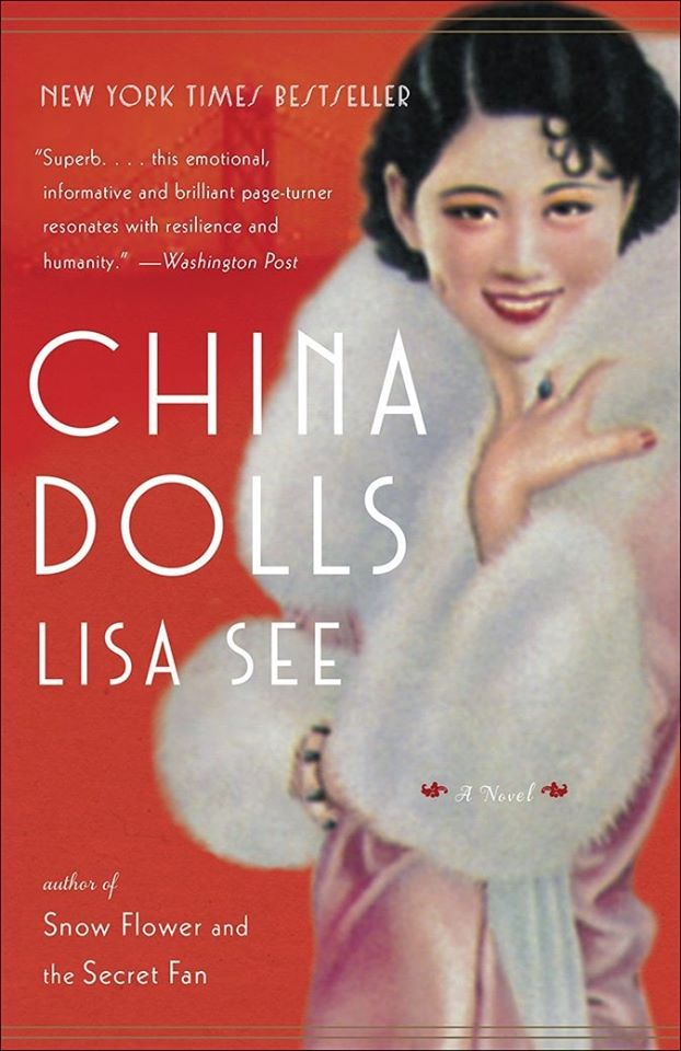 book cover: China Dolls by Lisa See