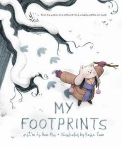 book cover: My Footprints by Bao Phi and Basia Tran
