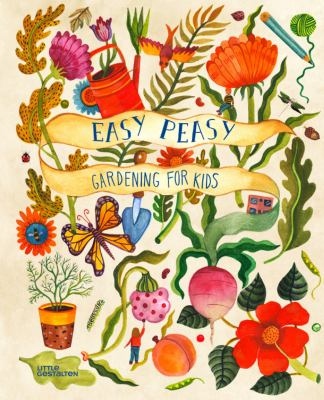 book cover: Easy Peasy by Kirsten Bradley and Aitch