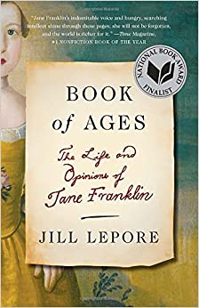 book cover: Book of Ages by Jill Lepore