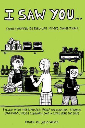 book cover: I Saw You ed. by Julia Wertz