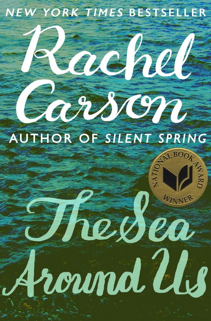 book cover: The Sea Around Us by Rachel Carson
