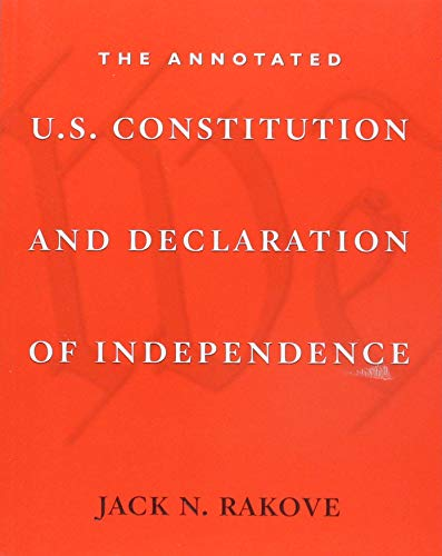 book cover: Annotated U.S. Constitution and Declaration of Independence