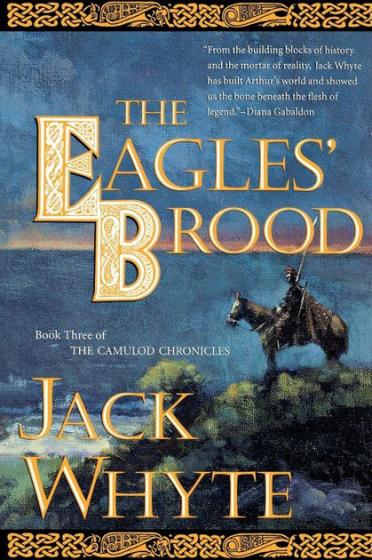book cover: The Eagle's Brood by Jack Whyte