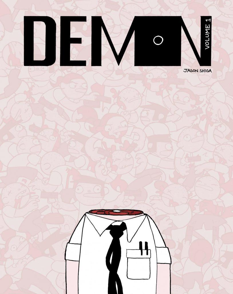 book cover: Demon v 1 by Jason Shiga