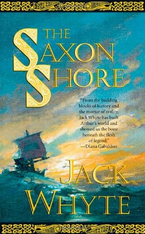 book cover: The Saxon Shore by Jack Whyte