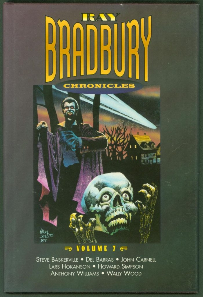 book cover: Ray Bradbury Chronicles Vol 7