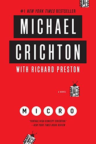 book cover: Micro by Michael Crichton and Richard Preston