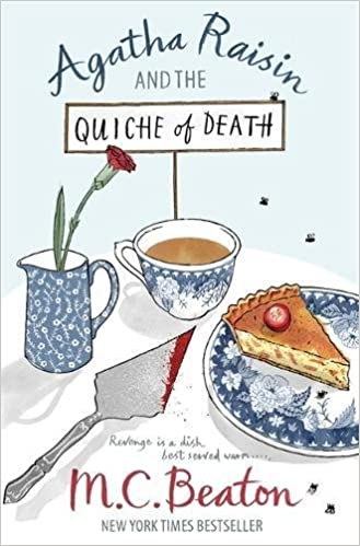 book cover: Agatha Raisin and the Quiche of Death by M.C. Beaton