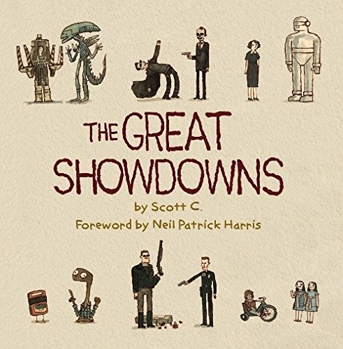 book cover: The Great Showdowns by Scott C.