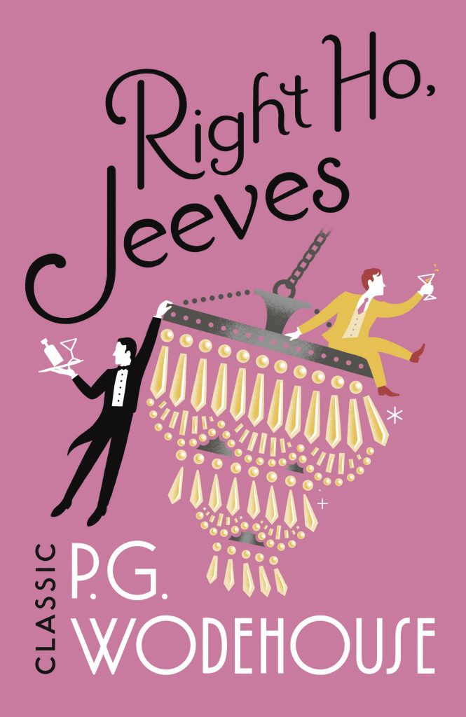 book cover: Right Ho, Jeeves! by P.G. Wodehouse