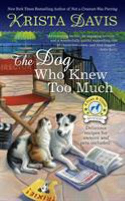 book cover: The Dog Who Knew Too Much by Krista Davis