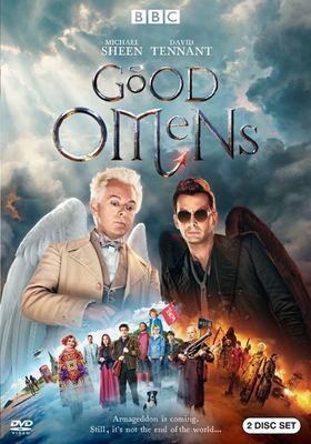 DVD cover: Good Omens by Neil Gaiman and Douglas MacKinnon